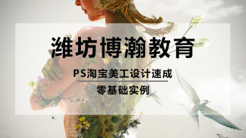 PS淘宝美工设计入门photoshop小白免费教程