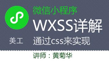 微信小程序 界面设计wxss(css) 语法知识详解(174节课)