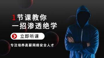 白帽黑客!3天教你一招渗透江湖绝学!网络安全/web安全/信息安全