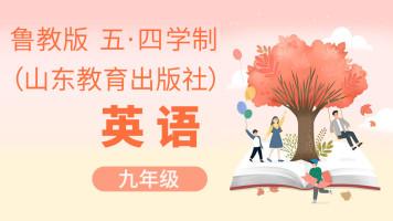 鲁教版五四学制英语九年级初三【一人班时间灵活】
