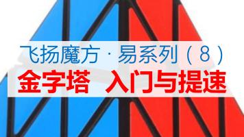 (零基础)简单易学三阶金字塔魔方入门提速【飞扬魔方·易系列】