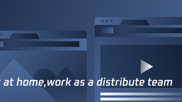 Work at home,work as a distributed team