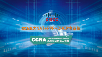 CCNA网络精品课之NAT+PPP+DHC