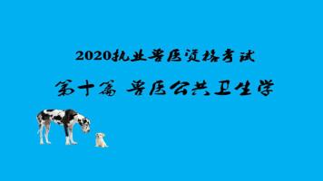 2020执业兽医资格考试-兽医公共卫生学