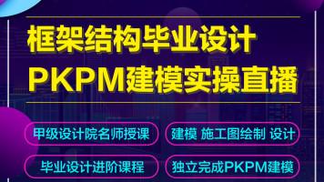 框架结构毕业设计PKPM电算出图全过程