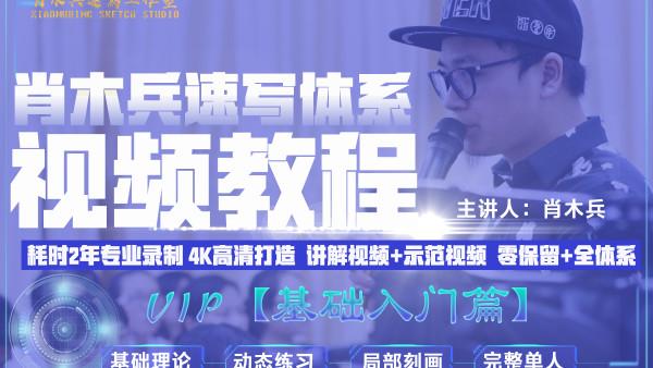 【VIP】肖木兵速写体系教程【基础入门篇】