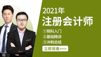 【2021年注册会计师】CPA|注会经济法|注会财管|税法|会计|审计