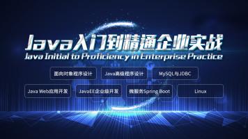 Java入门到精通企业实战公开课