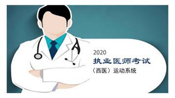 2020执业医师考试(西医)运动系统