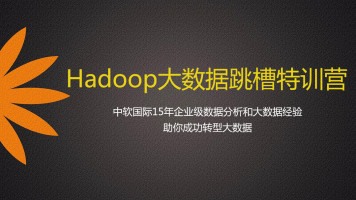 Hadoop跳槽营全套课程