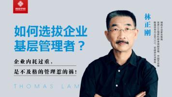 【林正刚系列课程】理想职场行为——如何选拔企业基层管理