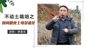 不动土栽培之如何避免土壤贫瘠化