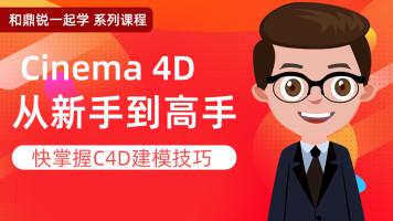 和鼎锐一起学系列课程 C4D基础到进阶班cinema4D