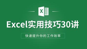 Excel实用技巧30讲