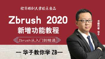 zbrush2020教程/新功能讲解/3D高级建模,华子教你学zb