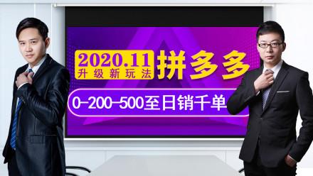 【2020新玩法开局】拼多多选品定位技巧爆款运营引爆单品免费流量