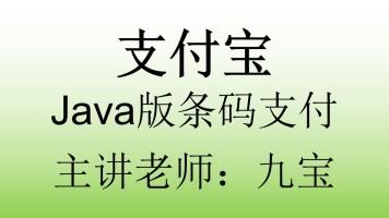 支付宝Java版条码支付
