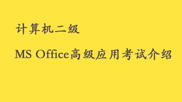 计算机二级Ms office高级应用