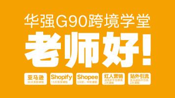 跨境电商—华强G90跨境学堂(亚马逊 虾皮 独立站 红人营销)
