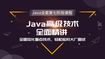 Java全套第七阶段课程 Java高级技术全面精讲