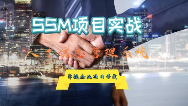 SSM框架项目实战课程,人才信息管理系统SpringMVC+MyBatis+LayUI