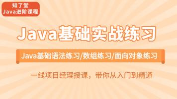Java基础实战练习-Java基础语法练习/数组练习/面向对象练习