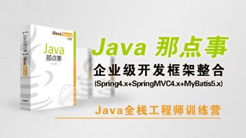 极客营-Java那点事-企业级开发框架整合(SSM)