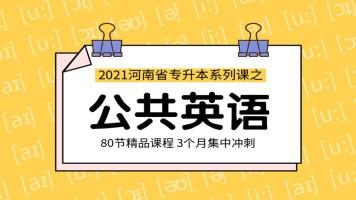 2020年河南专升本公共英语全程基础课