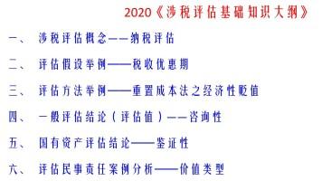 2020《涉税评估基础知识》(陈淑亭)