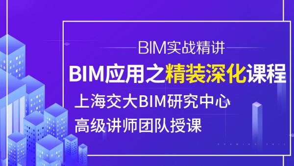 BIM精装修深化课程 Revit精装建模出图 上海交大BIM教程