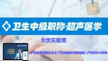 超声医学主治医师资格考试 卫生中级职称超声医学精品课程346