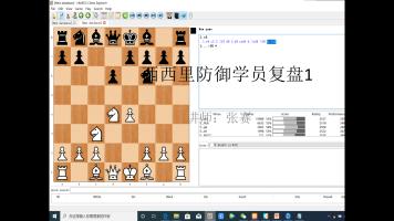 国际象棋西西里防御学员复盘