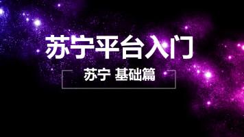 苏宁易购平台入驻产品发布基础课 动画教学【淘金商学院】