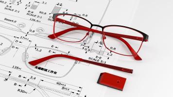 眼镜建模OC渲染之板材半透明材质的调节
