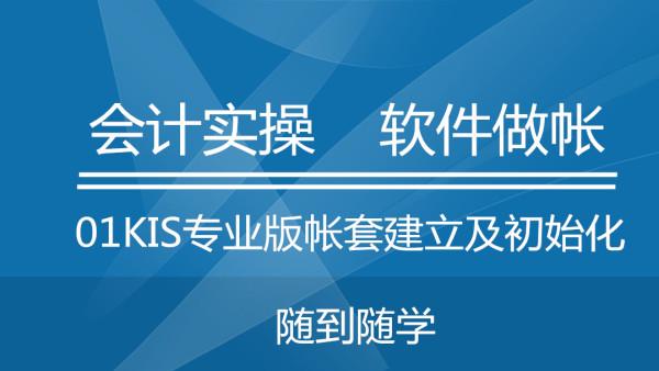 21金蝶KIS专业版基础资料及初始化