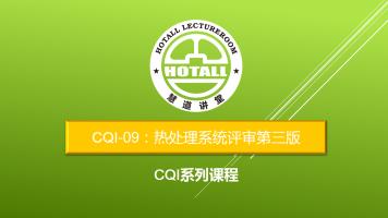 CQI-09:热处理系统评审第三版