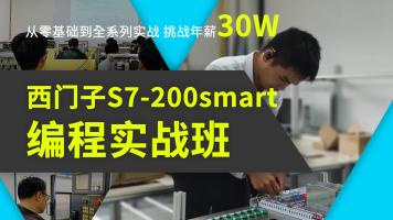 PLC西门子S7-200smart编程实战班