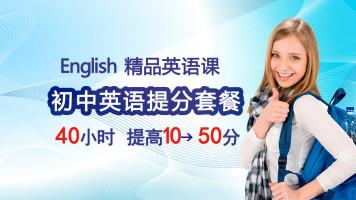 初中英语视频中考英语音标词汇语法初一初二初三教材提分通用全套
