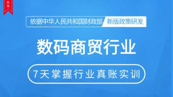 数码商业行业会计真账实操