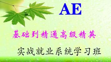 AE基础到精通高级精英实战工厂就业系统班