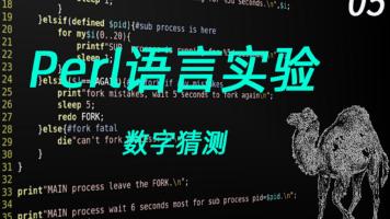 Perl语言编程实验5(数字猜测)