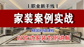 精装:室内家装造价案例【职业新干线】