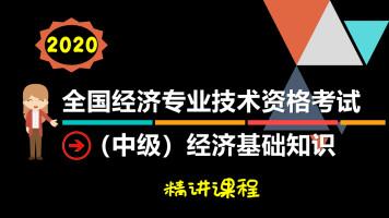2020年中级经济师经济基础知识精讲-赠习题[杨老师职考学堂]