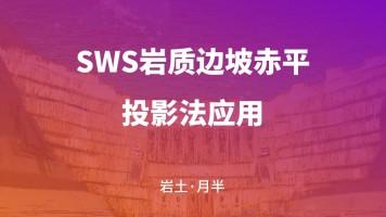 SWS岩质边坡赤平投影法应用
