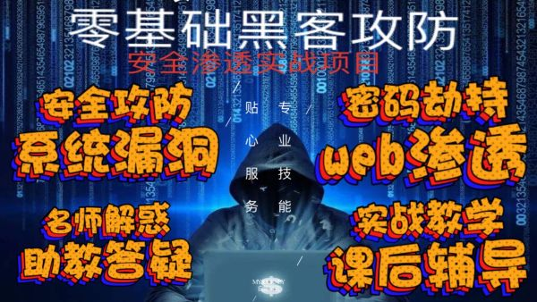 零基础黑客攻防安全渗透-玩转kali-web高级渗透-src漏洞挖掘