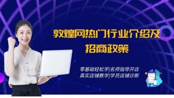 第三章敦煌网热门行业介绍及招商政策