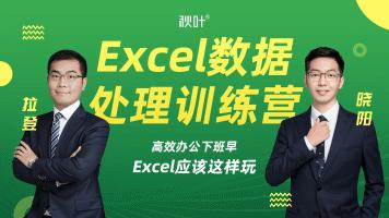 秋叶职场必修 | Excel数据处理训练营