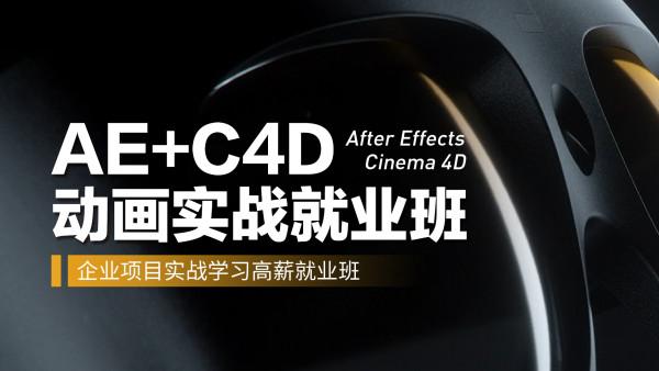 AE+C4D动画实战就业班