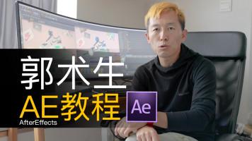 《AE大神之路》视频教程,郭术生徐斌主讲AE教程