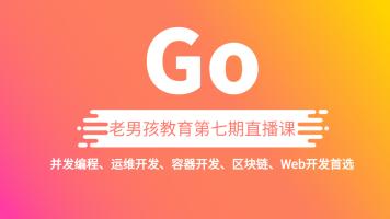 【周末线上线下任学】老男孩Go语言开发课程/Golong编程开发